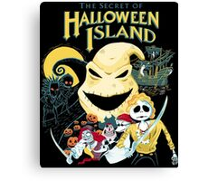 The Secret of Halloween Island Canvas Print