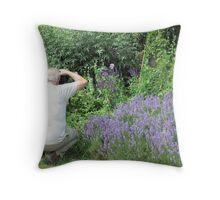 Newstead Abbey Gardens Throw Pillow