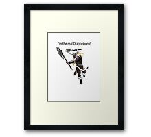 Olaf The DragonBorn Framed Print