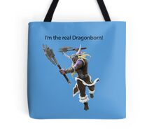 Olaf The DragonBorn Tote Bag
