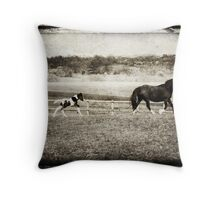 first day out Throw Pillow