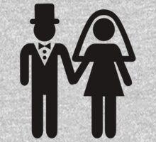 Wedding couple One Piece - Long Sleeve