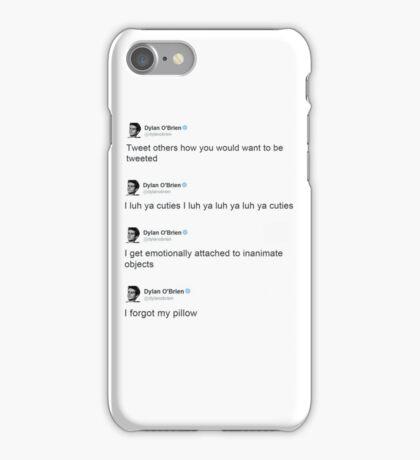 Best of: Dylan O'briens tweets iPhone Case/Skin