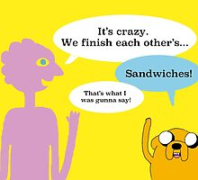 Sandwiches and Bromance  by ShamrockTea