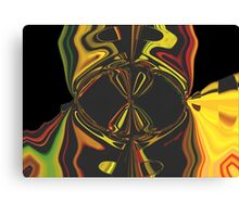 Psychadelic Darth Canvas Print
