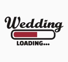 Wedding loading Kids Tee