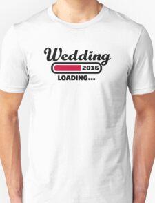 Wedding 2016 Unisex T-Shirt