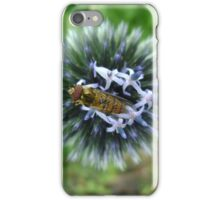 Whizz! Hoverfly on blossom. iPhone Case/Skin