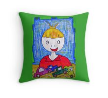 Boys will be boys! Throw Pillow