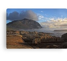 After the Rain at Sunset Rocks Canvas Print