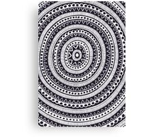 Black and White #7 Canvas Print