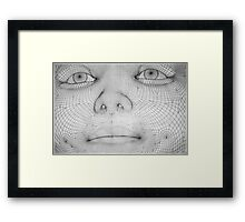 Fabrification of Reality Framed Print