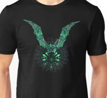 Sacred geometry triangle bat Unisex T-Shirt