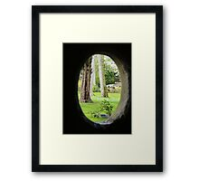 From St Mary's Well, Bodrhyddan Hall. Framed Print