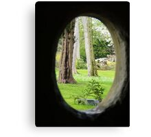 From St Mary's Well, Bodrhyddan Hall. Canvas Print