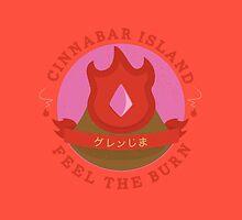 Kanto Gym Logos - Cinnabar Island (2015) by Cassandra  Downs