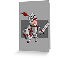 Magic vs. Zombies: The Warrior Greeting Card