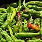 Green Chiles by joAnn lense