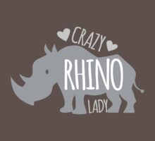 Crazy Rhino Lady by jazzydevil