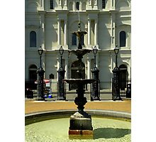 Jackson Square : De Gaulle Fountain Photographic Print