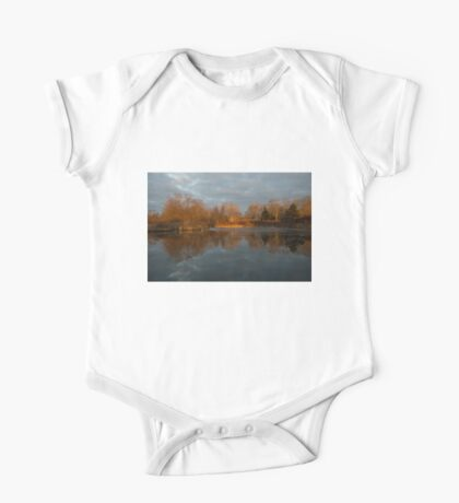 Of Trees and Mirrors - Lake Ontario, Toronto, Canada One Piece - Short Sleeve