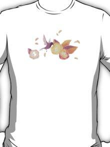 White Birds n' roses T-Shirt