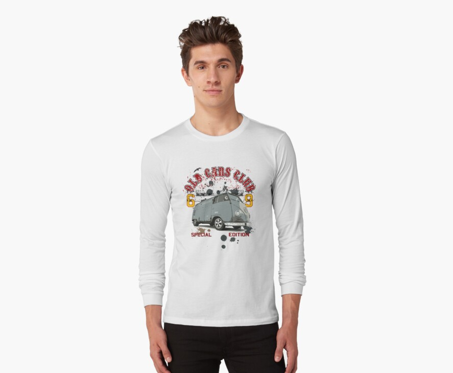 The Old Car Club VW Camper edition T-Shirt by jay007
