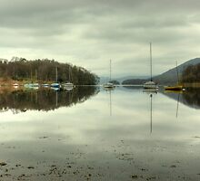 Coniston Morning Reflections by Jamie  Green