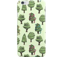 Decorated Trees iPhone Case/Skin