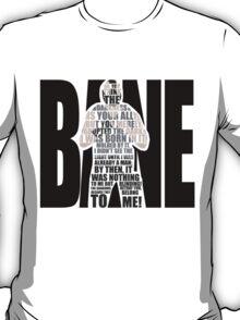 Bane typography T-Shirt