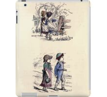 The Little Folks Painting book by George Weatherly and Kate Greenaway 0093 iPad Case/Skin