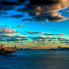 Touch the Sky: Midtown Manhattan from the Hudson River (HDR) by Dave Bledsoe