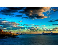 Touch the Sky: Midtown Manhattan from the Hudson River (HDR) Photographic Print