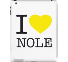 I ♥ NOLE iPad Case/Skin