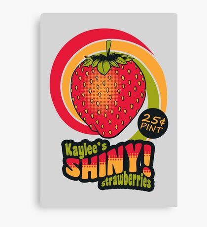 Shiny Berries Canvas Print