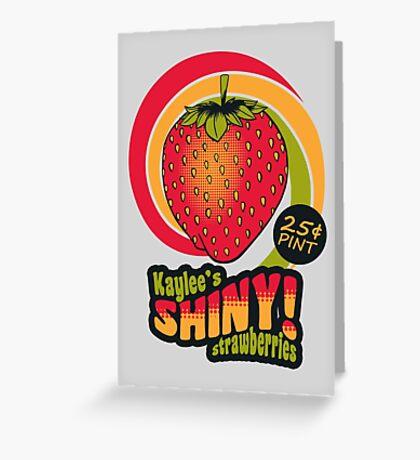 Shiny Berries Greeting Card