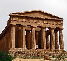 Temple of Concordia - Valley Of The Temples - Agrigento, Sicily  by jules572