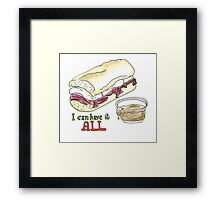 I can have it all! 30 Rock tribute Framed Print