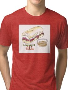 I can have it all! 30 Rock tribute Tri-blend T-Shirt
