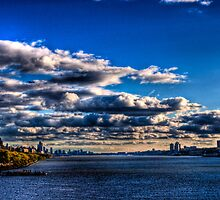 Clouds on the Hudson (HDR) by Dave Bledsoe