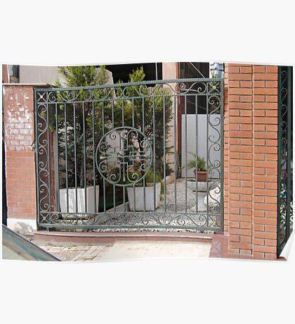 Wrought Iron gates 02 Poster