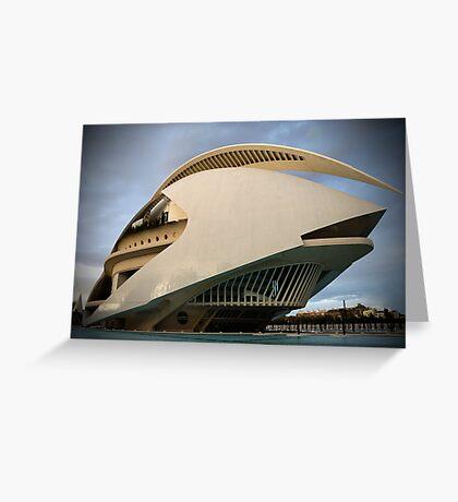 Palau De Les Arts - CAC Greeting Card