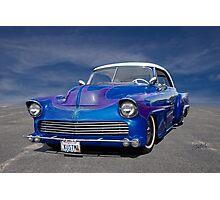1951 Chevrolet Custom Bel Air I Photographic Print