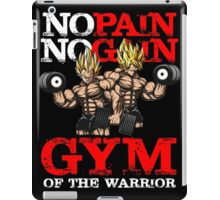 gym of the warrior iPad Case/Skin