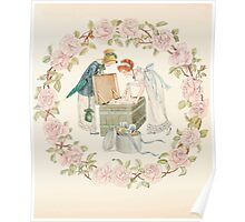 Mrs Leicester's School Charles & Mary Lamb with Minifred Green 18xx 0150 My Beautiful Ball Dresses Poster