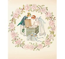 Mrs Leicester's School Charles & Mary Lamb with Minifred Green 18xx 0150 My Beautiful Ball Dresses Photographic Print
