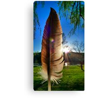 Of a Feather Canvas Print