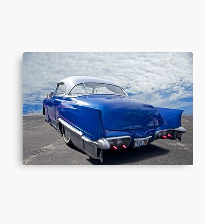 1951 Chevrolet 'Custom' Bel Air II Canvas Print