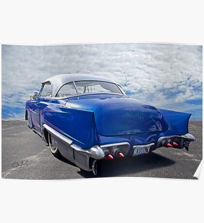 1951 Chevrolet 'Custom' Bel Air II Poster