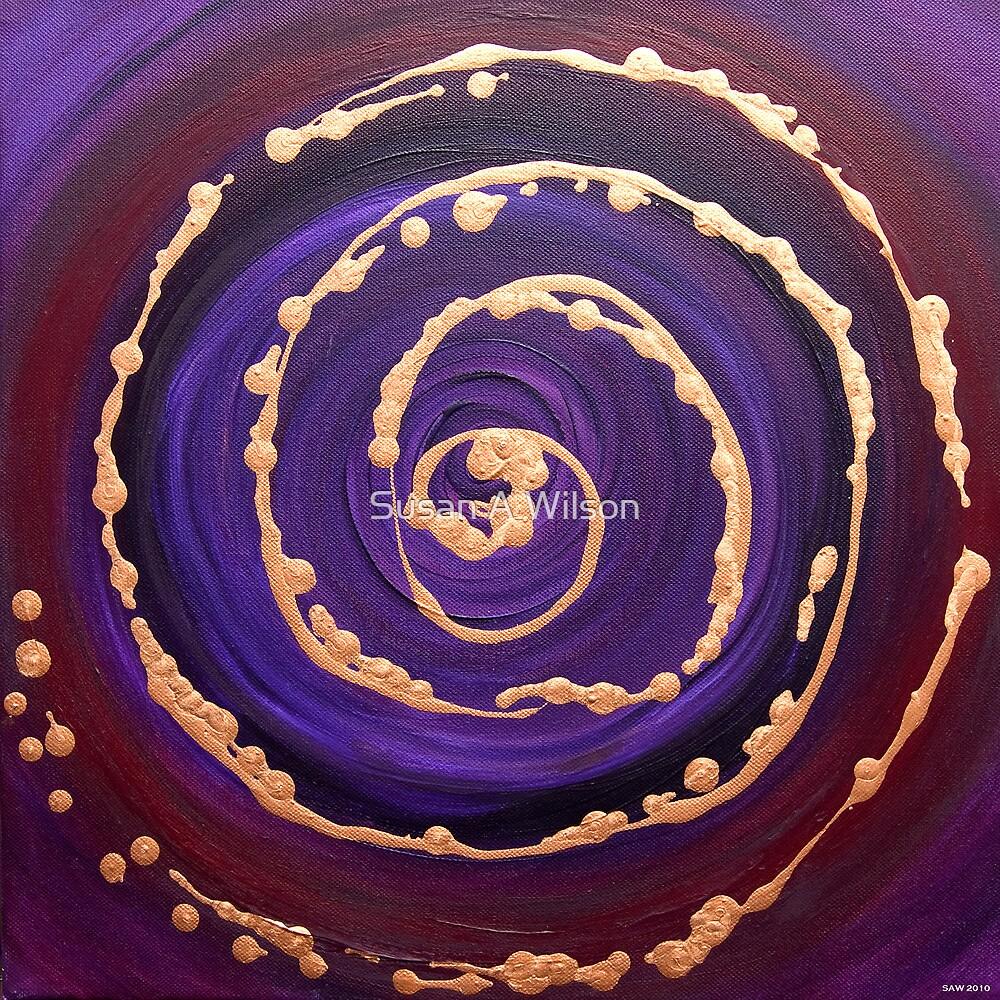 Purple Harmony by Susan A Wilson